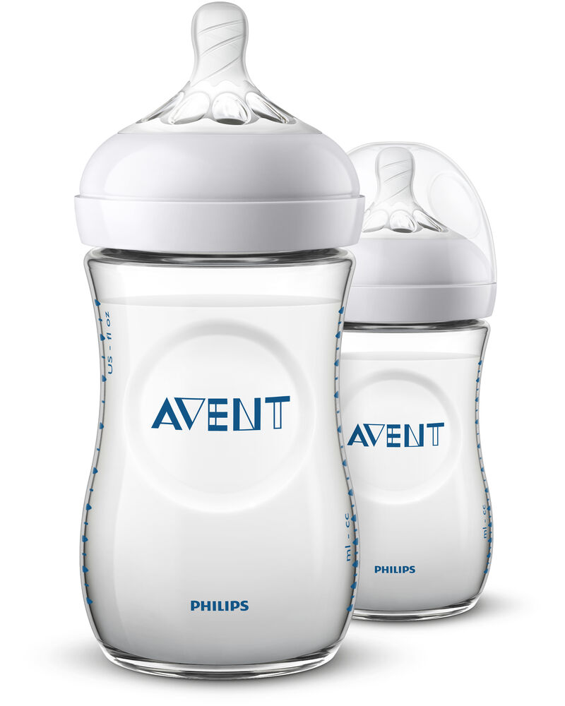 Image of   Philips Avent Sutteflaske NATURAL V2 260 Ml x 2