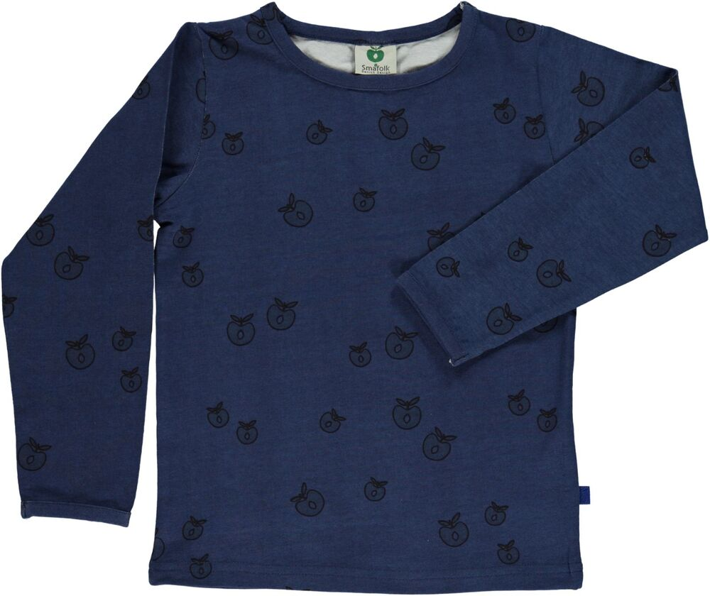 Småfolk T-Shirt - Mørkeblå-706 thumbnail