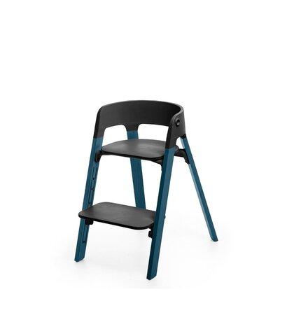 Steps™ Højstol, Bøg - Midnight Blue