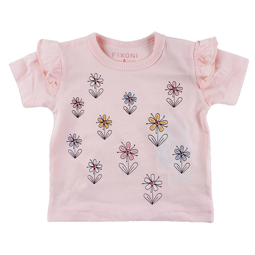Fixoni T-shirts - 02-10 Soft Rose thumbnail