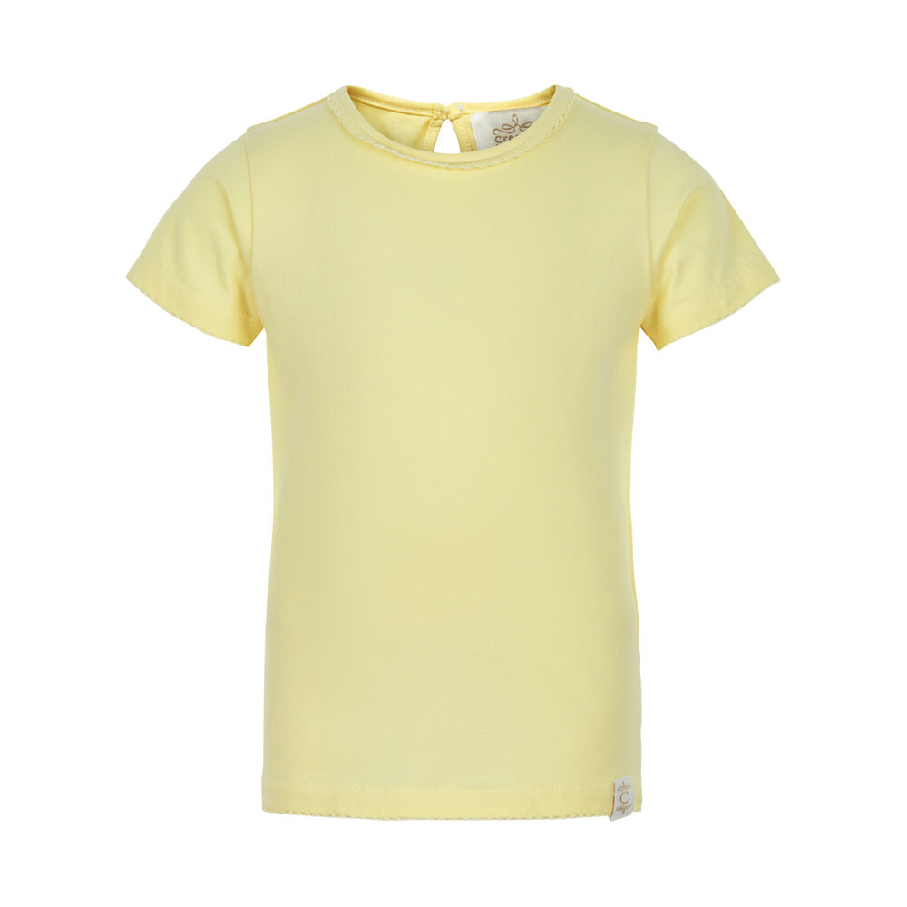 Image of   Creamie Kortærmet T-Shirt - 3617 French Vanilla