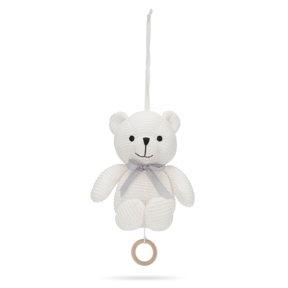Image of   Vanilla Little Teddy Musikuro Bamse - Ivory