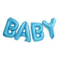 Folie Ballon Baby Blå