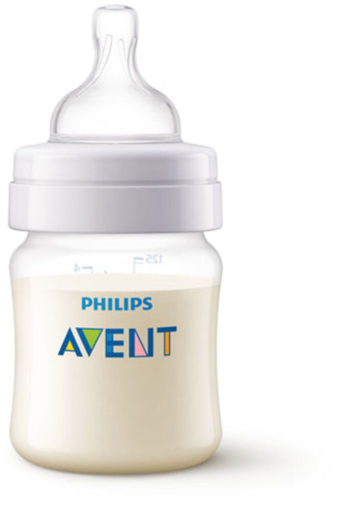 Image of   Philips Avent Anti-Colic sutteflaske, 125 ml.