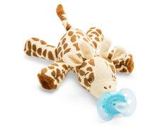 Sut med bamse giraf