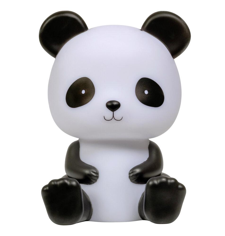 Image of   ALLC Natlampe Panda Med Timer