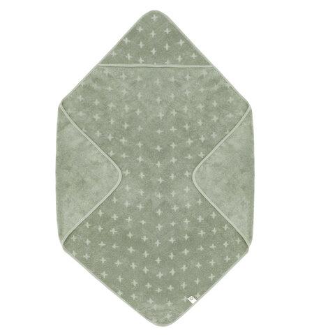 Baby Håndklæde 100x100 - Misty Green