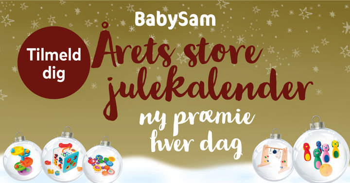 Julekalender BabySam