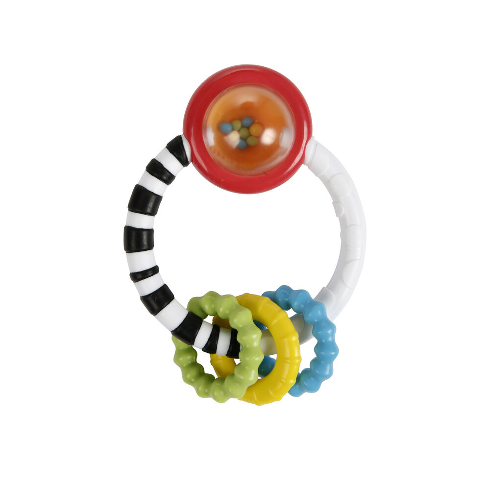 Image of   Bright Starts Rattle-A-Round Biderangle