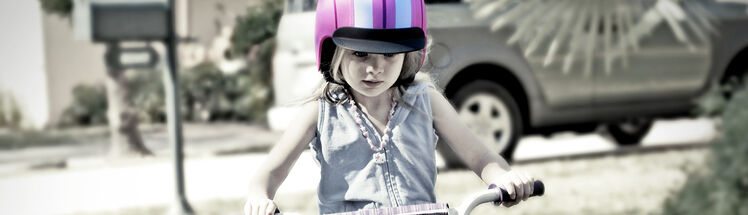 Cykelstole & hjelme