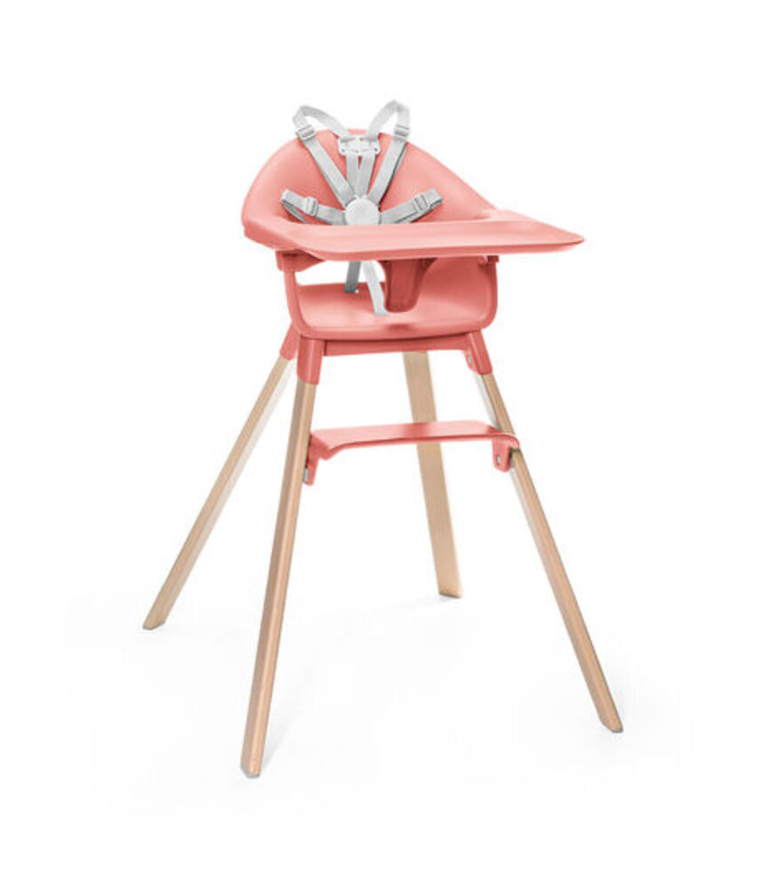 Image of Stokke® Clikk højstol - sunny coral (5f0d06a3-4a6d-4b44-a228-c2c5f3862146)