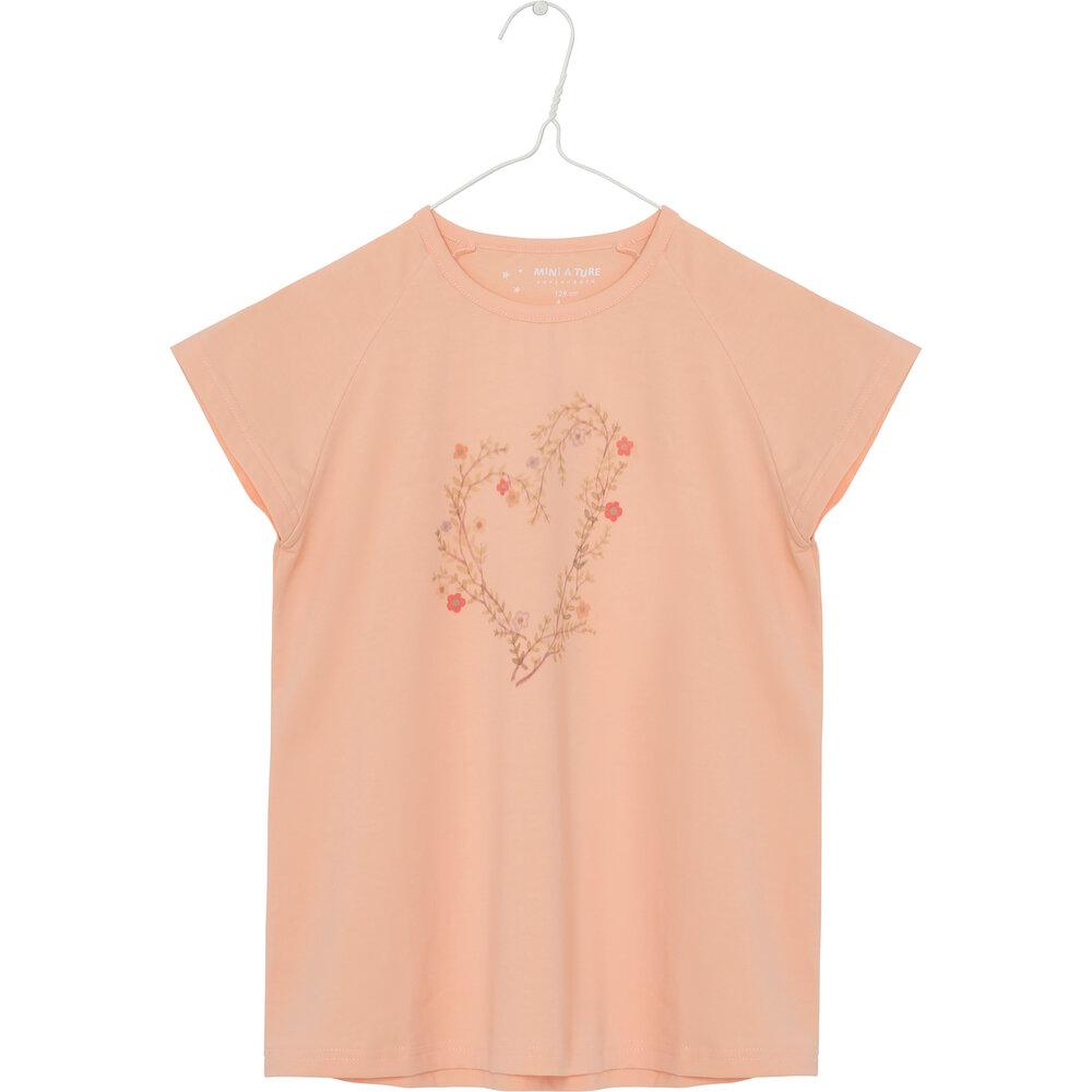 Mini A Ture Michela T-shirt - Peach Parfait