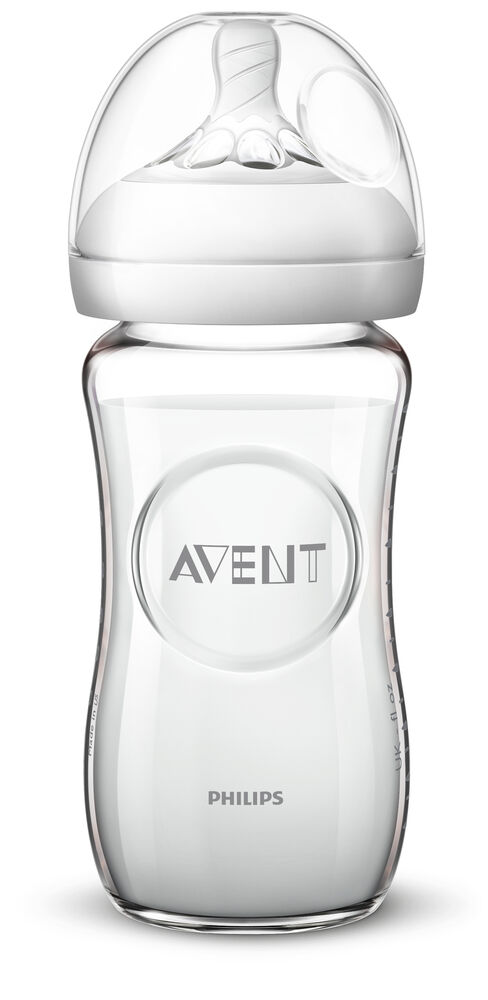 Image of   Philips Avent Glas Flaske 240ml