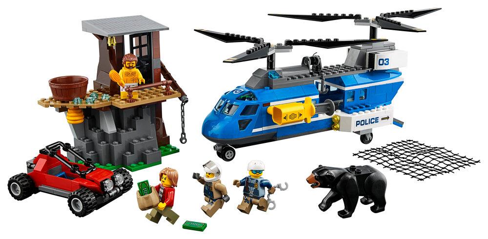 LEGO Anholdelse På Bjerget 60173 thumbnail