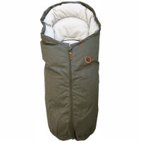 Mini car seat bag olive melange