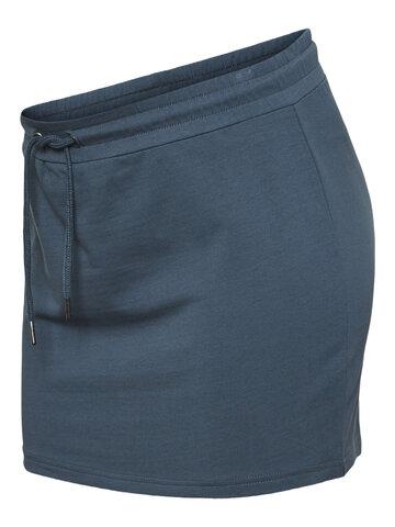 Vinja Short Sweat Nederdel - orion blue