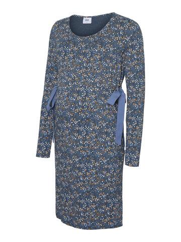 Carlotta Jersey Kjole - orion blue