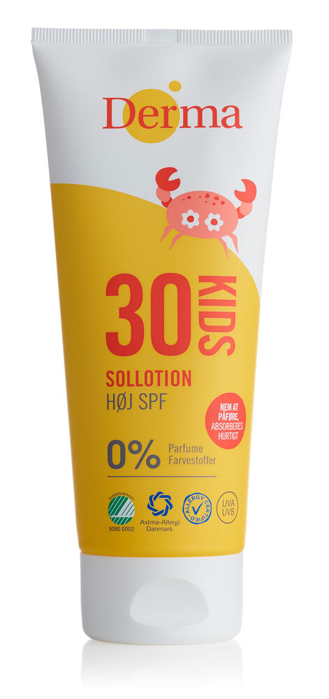 Image of   Derma Sol Kids Sollotion SPF30