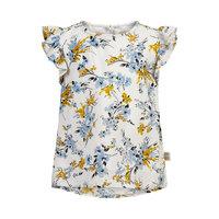 Bluse blomster dobby - 1103