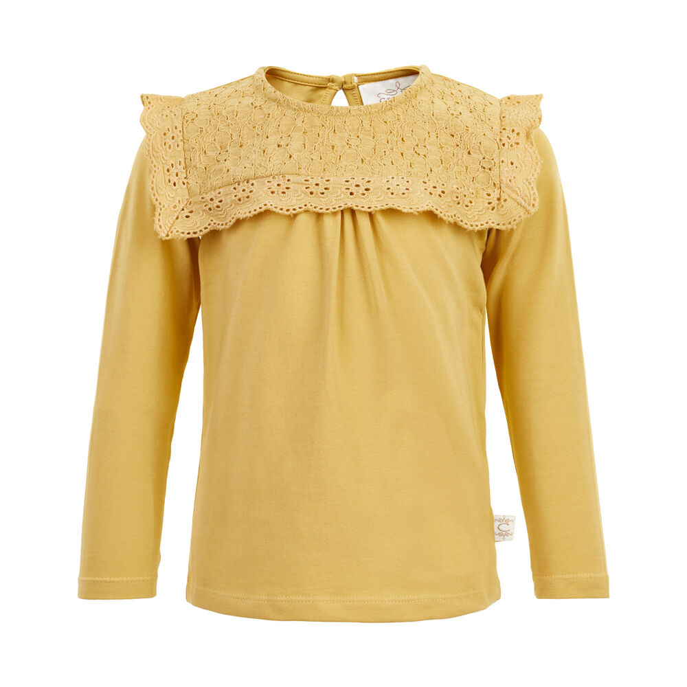 Image of   Creamie T-Shirt blonde langærmet - 3031
