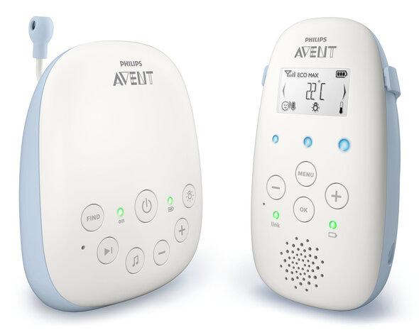 Baby Monitor m. temperatursensor og vuggeviser