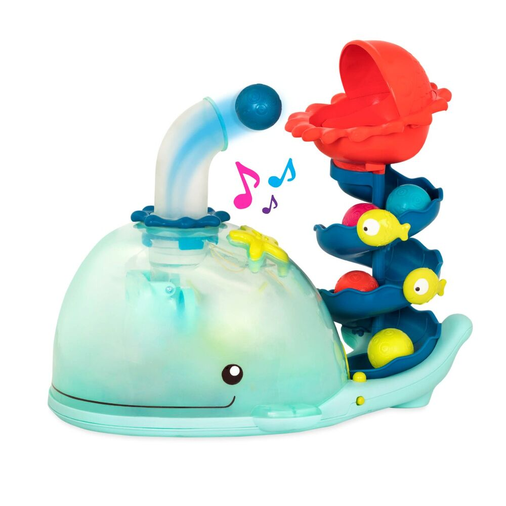 Image of   B Toys Whale popper