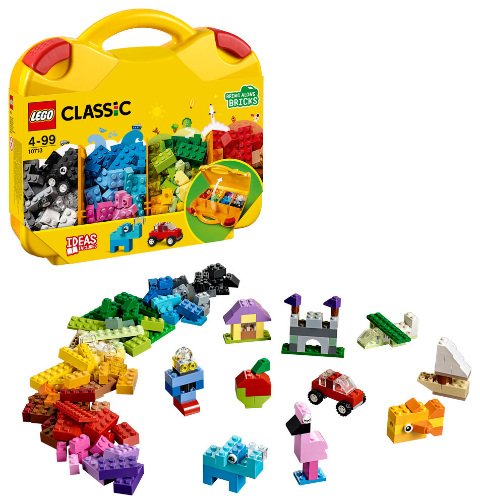 LEGO Kreativ Kuffert 10713 - Byggesæt & klodser - LEGO
