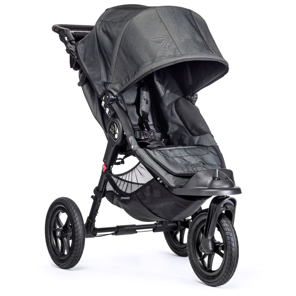 Image of   Babyjogger City Elite Single - Charcoal