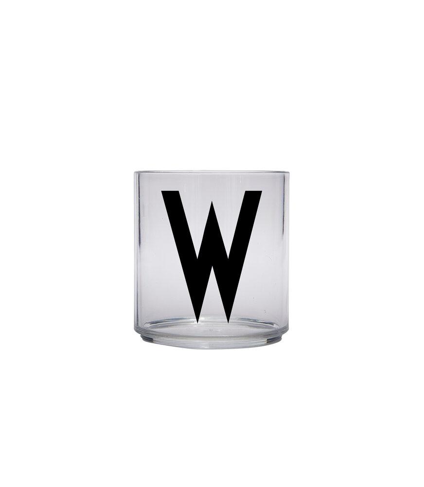 Image of   Design Letters Drikke Glas W