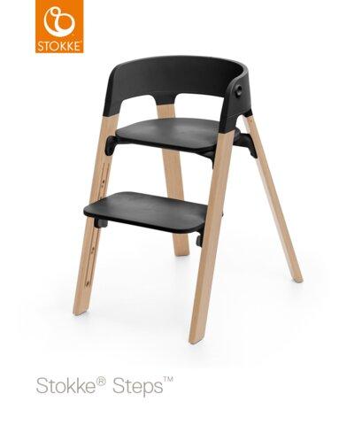 Steps™ Højstol, Bøg - Natur