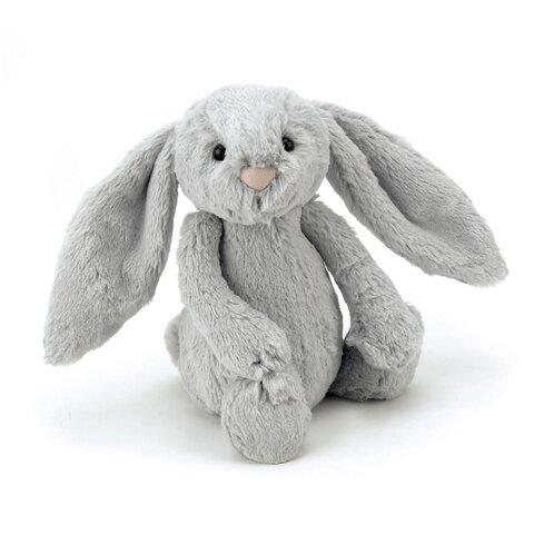 Blød Kanin Bamse 31 Cm - Silver