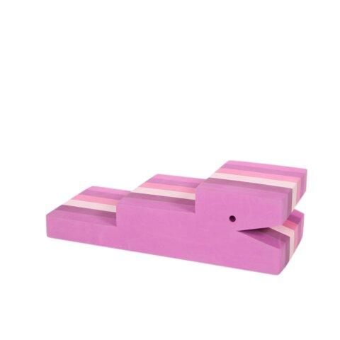 bObles krokodille - multi pink