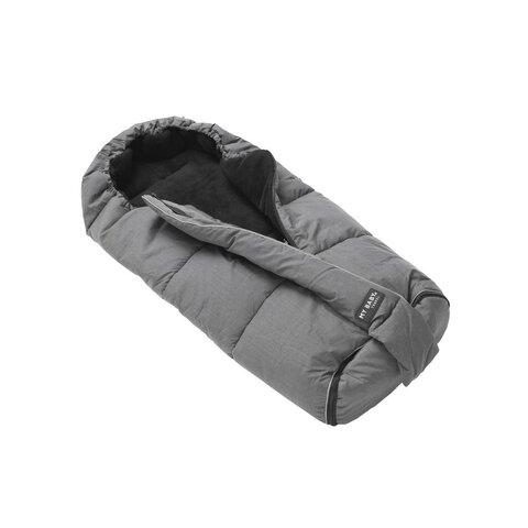 Northern kørepose - Mørkegrå/sort