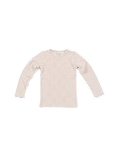 Bluse L.s, lys rosa - 17