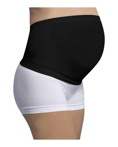 Sømløs Graviditetsstøttebånd - Sort