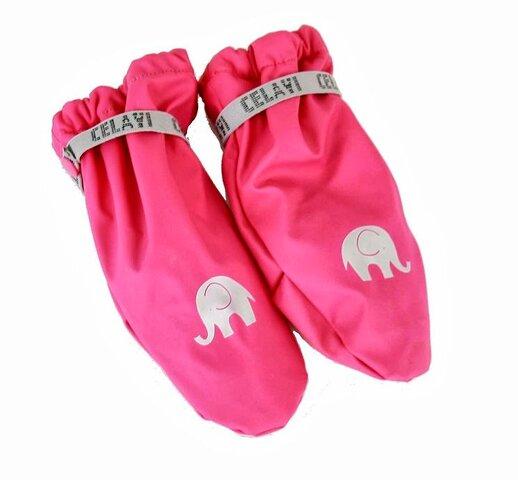 Vatterede PU Luffer - Pink 546