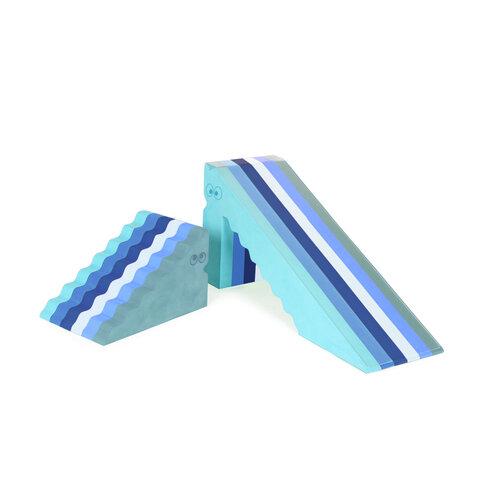 bObles dino - multi blå