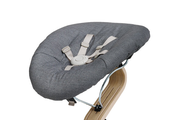 Nomi Baby Med Coffee Skal - Dark Grey/Sand