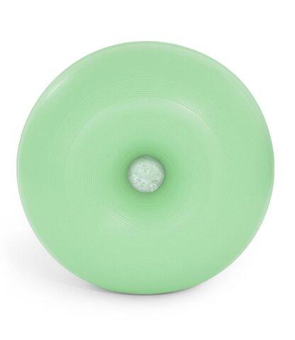 bObles donut medium - grøn/ lys marmor