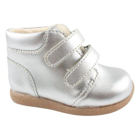 begynder sko med Velcro - Silver/-01