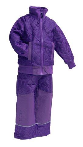Termosæt M. Fleece - Dark Violet/741