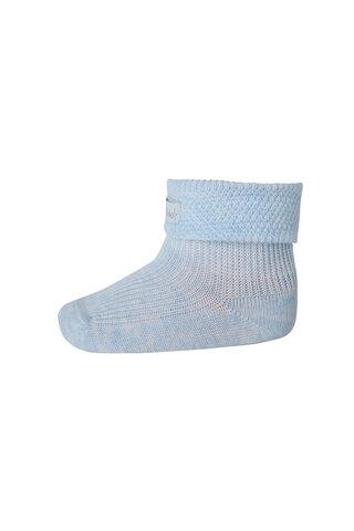 Ankelstrømpe 1/1 Pad Mp Baby - 480-Blue