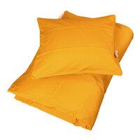 Sengetøj junior Sateen quality, Golden mustard