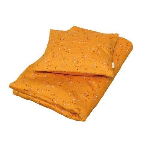 Sengetøj junior, Stars Golden mustard
