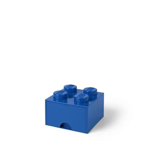 LEGO Opbevaringsskuffe Brick 4 - Bright Blå