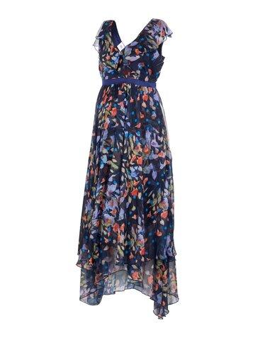Jasmine cap maxi kjole - MEDI. BLUE