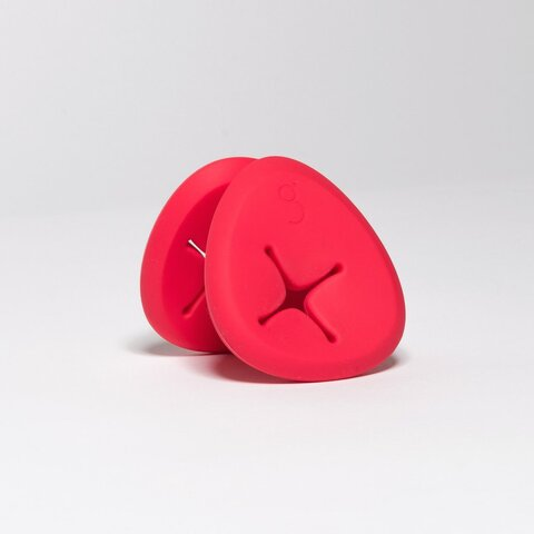 Pebbles - Rød