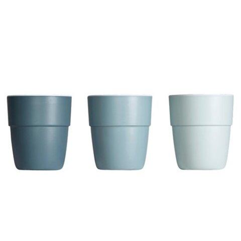 Mini Krus 3 stk - Blue