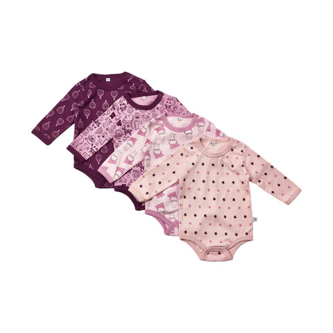 Bodystocking 4 pakke - 600/Lilac