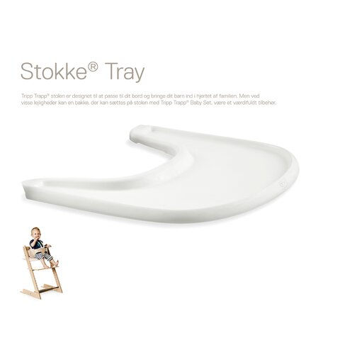 Bakke til tripp Trapp stol - hvid